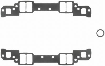 Gaskets and Sealing Systems - Engine Intake Manifold Gasket Set - FEL-PRO - PERFORMANCE INTAKE MANIFOLD GASKET SET - 1283
