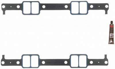 Gaskets and Sealing Systems - Engine Intake Manifold Gasket Set - FEL-PRO - PERFORMANCE INTAKE MANIFOLD GASKET SET - 1284