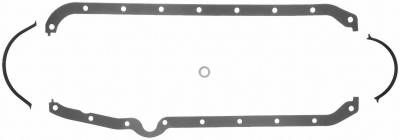Gaskets and Sealing Systems - Engine Oil Pan Gasket Set - FEL-PRO - PERFORMANCE OIL PAN GASKET SET - 1802