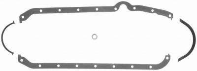 Gaskets and Sealing Systems - Engine Oil Pan Gasket Set - FEL-PRO - PERFORMANCE OIL PAN GASKET SET - 1803