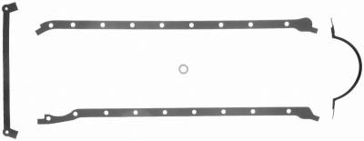 Gaskets and Sealing Systems - Engine Oil Pan Gasket Set - FEL-PRO - PERFORMANCE OIL PAN GASKET SET - 1804