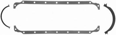 Gaskets and Sealing Systems - Engine Oil Pan Gasket Set - FEL-PRO - PERFORMANCE OIL PAN GASKET SET - 1807