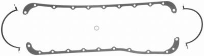 Gaskets and Sealing Systems - Engine Oil Pan Gasket Set - FEL-PRO - PERFORMANCE OIL PAN GASKET SET - 1812