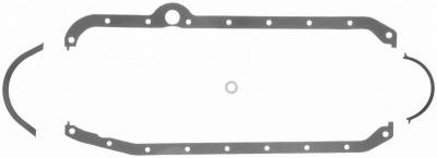 Gaskets and Sealing Systems - Engine Oil Pan Gasket Set - FEL-PRO - PERFORMANCE OIL PAN GASKET SET - 1818