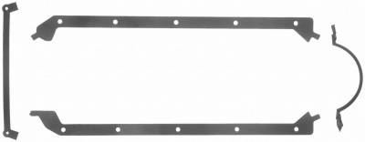 Gaskets and Sealing Systems - Engine Oil Pan Gasket Set - FEL-PRO - PERFORMANCE OIL PAN GASKET SET - 1891