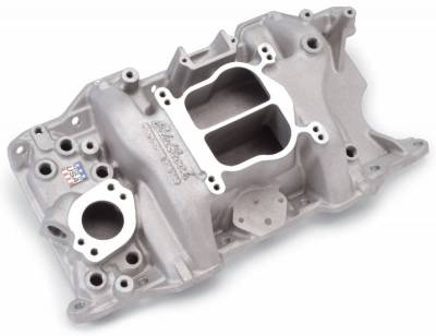 Edelbrock - Performer 318/360 Intake Manifold for Small-Block Chrysler, LA Series Engines - 2176 - Image 2