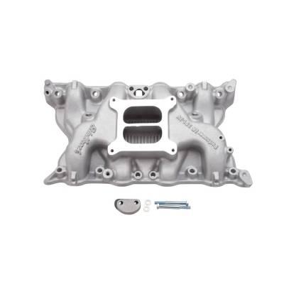 Cylinder Block Components - Engine Intake Manifold - Edelbrock - Performer 351 Intake Manifold for Ford 351- 2V Cleveland Engine - 2750