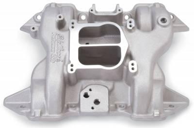 Cylinder Block Components - Engine Intake Manifold - Edelbrock - Performer 440 Intake Manifold for Chrysler, RB Series 413-440 Engines - 2191