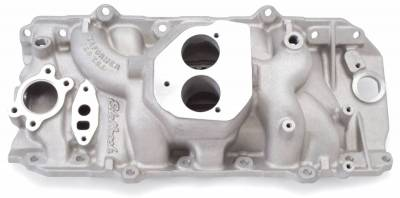 Cylinder Block Components - Engine Intake Manifold - Edelbrock - Performer 454 T.B.I. Intake Manifold Big-Block Chevy - 3764
