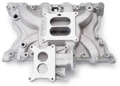 Cylinder Block Components - Engine Intake Manifold - Edelbrock - Performer Ford 400 EGR Intake Manifold - 3771