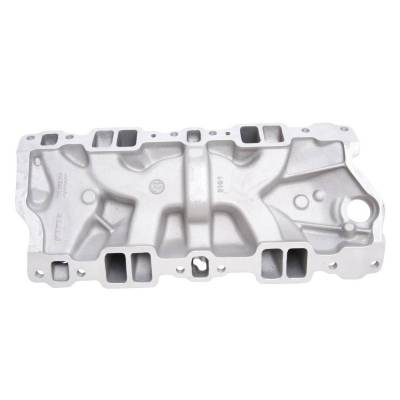 Edelbrock - Performer Intake Manifold for 1955-86 Small-Block Chevy, Satin Finish - 2101 - Image 3