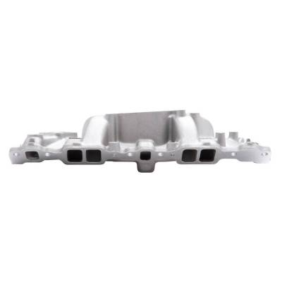 Edelbrock - Performer Intake Manifold for 1955-86 Small-Block Chevy, Satin Finish - 2101 - Image 4