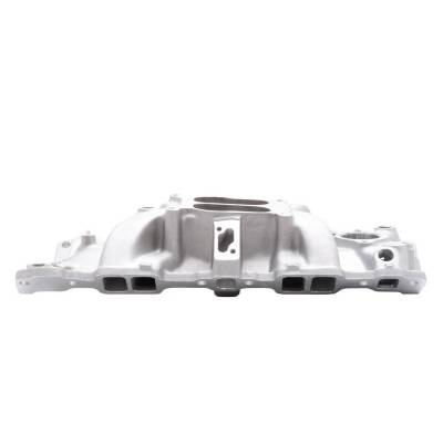 Edelbrock - Performer Intake Manifold for 1955-86 Small-Block Chevy, Satin Finish - 2101 - Image 5