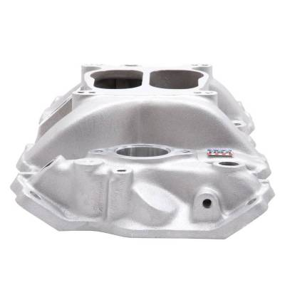 Edelbrock - Performer Intake Manifold for 1955-86 Small-Block Chevy, Satin Finish - 2101 - Image 6