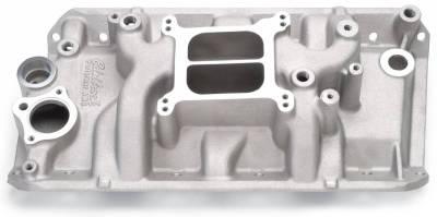 Cylinder Block Components - Engine Intake Manifold - Edelbrock - Performer Intake Manifold for 1970-91 AMC, Non-EGR, Satin Finish - 2131