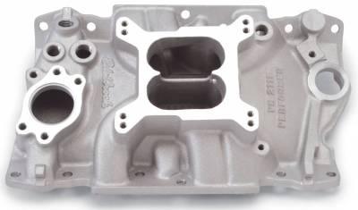 Cylinder Block Components - Engine Intake Manifold - Edelbrock - Performer Intake Manifold for 1985-95 GM 90? V6 (3.8L & 4.3L) - 2111
