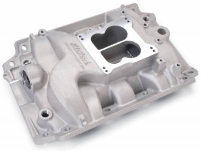Edelbrock - Performer Intake Manifold for Buick 400-455 V8, Non-EGR, Satin Finish - 2146 - Image 2