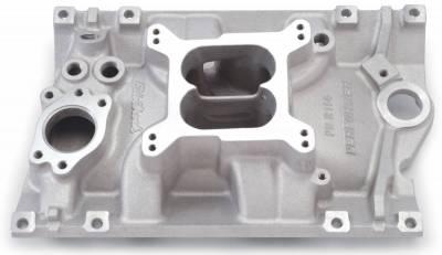 Cylinder Block Components - Engine Intake Manifold - Edelbrock - Performer Intake Manifold for GM 90? V6 (3.8L & 4.3L), Vortec - 2114