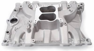 Cylinder Block Components - Engine Intake Manifold - Edelbrock - Performer Intake Manifold for Olds 400-455, Non-EGR, Satin - 2151