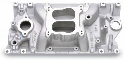 Cylinder Block Components - Engine Intake Manifold - Edelbrock - Performer Intake Manifold for Small-Block Chevy w/Vortec Heads - 2116