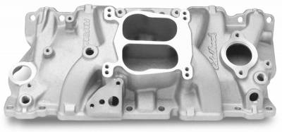 Cylinder Block Components - Engine Intake Manifold - Edelbrock - Performer Intake Manifold Small-Block Chevy - 3706