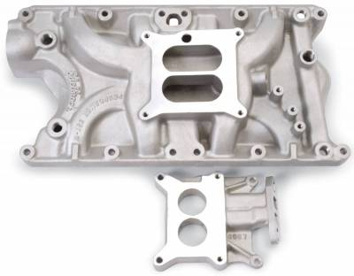 Cylinder Block Components - Engine Intake Manifold - Edelbrock - Performer Intake Manifold Small-Block Ford - 3781