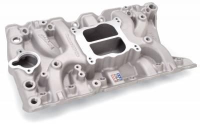 Cylinder Block Components - Engine Intake Manifold - Edelbrock - Performer Olds 350 Intake Manifold for 307-330-350-403 Small-Block Oldsmobile - 2711