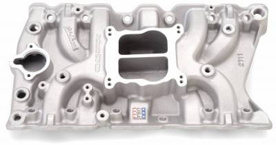 Edelbrock - Performer Olds 350 Intake Manifold for 307-330-350-403 Small-Block Oldsmobile - 2711 - Image 2