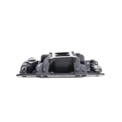 Edelbrock - Performer RPM AIR-Gap Small Block Chevy Black Intake Manifold - 75013 - Image 2