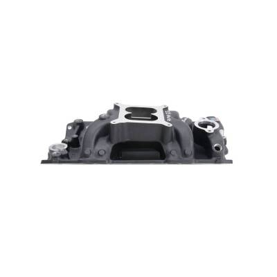 Edelbrock - Performer RPM AIR-Gap Small Block Chevy Black Intake Manifold - 75013 - Image 3