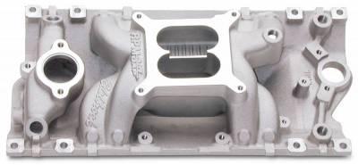 Edelbrock - Performer RPM AIR-GAP Small Block Chevy Vortec Intake Manifold - 7516 - Image 1