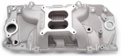 Cylinder Block Components - Engine Intake Manifold - Edelbrock - Performer RPM Big Block Chevy 2-O Intake Manifold - 7161