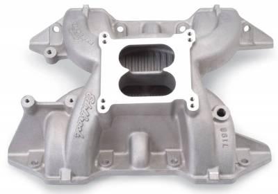 Cylinder Block Components - Engine Intake Manifold - Edelbrock - Performer RPM Big Block Chrysler RB Intake Manifold - 7193