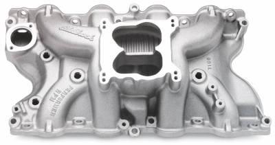 Cylinder Block Components - Engine Intake Manifold - Edelbrock - Performer RPM Big Block Ford 460 Intake Manifold - 7166