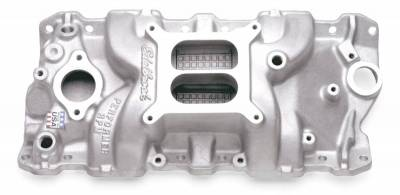Cylinder Block Components - Engine Intake Manifold - Edelbrock - Performer RPM Small Block Chevy Intake Manifold - 7101