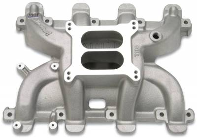 Cylinder Block Components - Engine Intake Manifold - Edelbrock - Performer RPM Small Block Chevy LS1 Intake Manifold Only - 71187