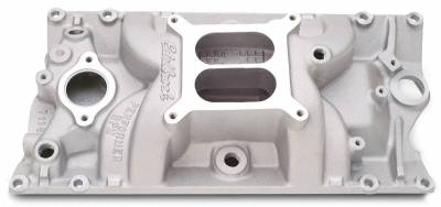 Cylinder Block Components - Engine Intake Manifold - Edelbrock - Performer RPM Small Block Chevy Vortec Intake Manifold - 7116