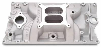 Cylinder Block Components - Engine Intake Manifold - Edelbrock - Performer RPM Small Block Chevy Vortec Intake Manifold - 7116