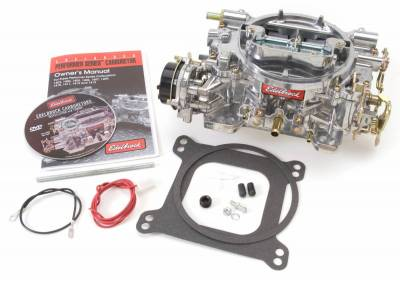 Carburetion - Carburetor - Edelbrock - Performer Series 500 CFM Carburetor with Electric Choke, Satin Finish (non-EGR) - 1403