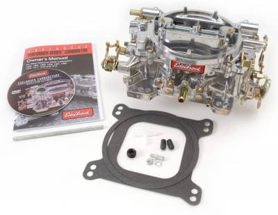 Carburetion - Carburetor - Edelbrock - Performer Series 500 CFM Carburetor with Manual Choke, Satin Finish (non-EGR) - 1404