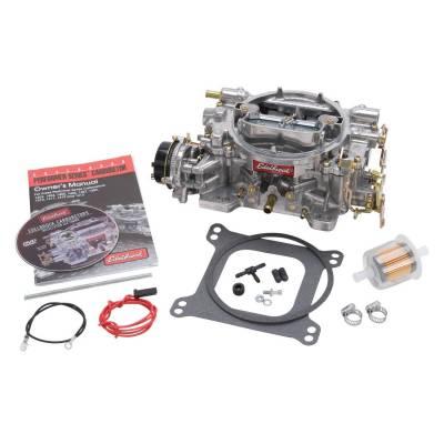 Performer Series 600 CFM Carburetor with Electric Choke, Satin Finish (non-EGR) - 1406