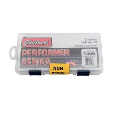 Carburetion - Carburetor Calibration Kit - Edelbrock - Performer Series Calibration Kit for #1403, #1404, #1801-#1804 Carburetors - 1486