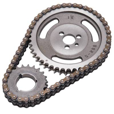 Valve Train Components - Engine Timing Set - Edelbrock - Performer-Link Adjustable True-Roller Timing Chain Set - 7800