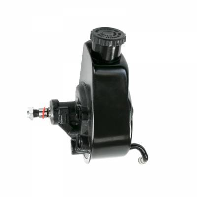 Top Street Performance - Power Steering Pump - GM Saginaw P Series, Black - JM2000BK - Image 2