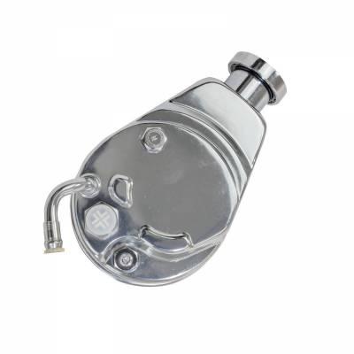 Top Street Performance - Power Steering Pump - GM Saginaw P Series, Chrome - JM2000C - Image 2