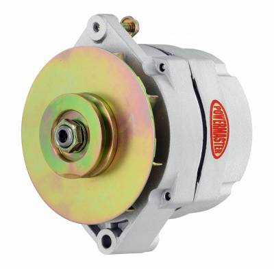 Powermaster - Powermaster Alternator GM 12SI Natural 150A 1V Pulley & Baffle 1 or 3 Wire - 47294