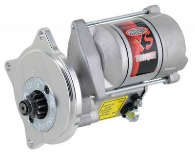 Starter and Related Components - Starter Motor - Powermaster - Powermaster Starter XS Infi-Clock Ford Big Block FE 3 Ear Mtg 1963 1/2 & UP 184T Flyw Natural - 9506