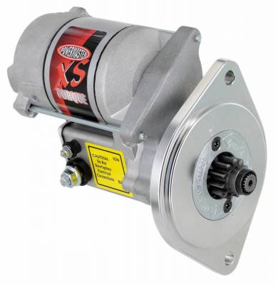 "Starter and Related Components - Starter Motor - Powermaster - Powermaster Starter XS Infi-Clock Ford Small Block V8 All A/T w/157T/164T, M/T 157T Flyw 3/4"" Depth 18:1 Natural - 9503"