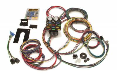 Frame - Chassis Wiring Harness - Painless Wiring - Pro Street Chassis Harness-21 Circuits - 50002