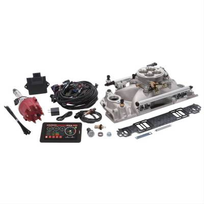 Service Kits - Fuel Injector Kit - Edelbrock - Pro-Flo 4 EFI System for 1986 & Earlier Small-Block Chevy Engines - 35760